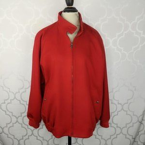 Vintage Pendleton Wool Red Zip Jacket